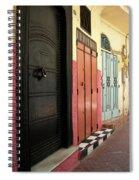 Moroccan Doors Spiral Notebook