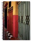 Moroccan Doors Ll Spiral Notebook