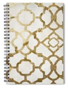 Moroccan Gold I Spiral Notebook