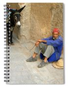 Moroccan Taxi Spiral Notebook
