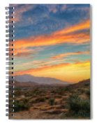Morongo Valley Sunset Spiral Notebook