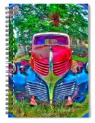 Morphing Mopar Spiral Notebook