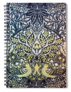 Morris: Dove & Rose, 1879 Spiral Notebook