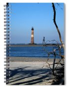 Morris Island Lighthouse Charleston Sc Spiral Notebook