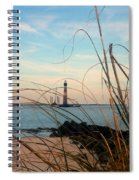 Morris Island Lighthouse In Charleston Sc Spiral Notebook