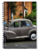 Morris Minor Spiral Notebook