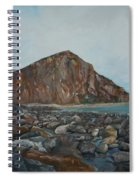 Morro Rock Spiral Notebook