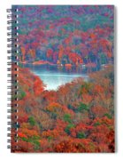 Morrow Mountain Overlook Spiral Notebook