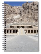 Mortuary Temple Of Hatshepsut - Egypt Spiral Notebook