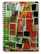 Mosaic 17 Spiral Notebook