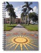 Mosaic At The Ca D Spiral Notebook
