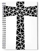 Mosaic Cross  Spiral Notebook