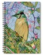 Mosaic Of Blue Jay Spiral Notebook