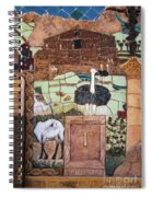 Mosaic Of The Holy Land Spiral Notebook