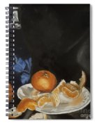 Moscato And Tangerines Spiral Notebook