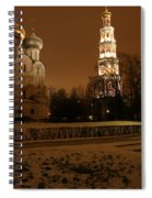 Moscow Cathedral Of Our Lady Of Smolensk Spiral Notebook