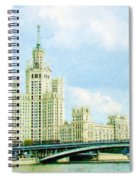 Moscow High-rise Building Spiral Notebook