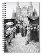 Moscow: Red Army, C1920 Spiral Notebook