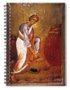 Moses Before Burning Bush Spiral Notebook