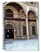 Mosque Of Muhammad Ali Entrance Spiral Notebook