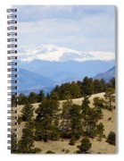 Mosquito Range Mountains From Bald Mountain Colorado Spiral Notebook