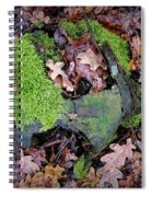 Moss And Leaves Spiral Notebook