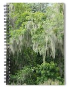 Mossy Branches Spiral Notebook