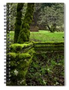 Mossy Fence 2 Spiral Notebook