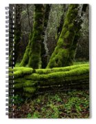 Mossy Fence 3 Spiral Notebook