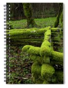 Mossy Fence 4 Spiral Notebook