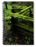 Mossy Fence 5 Spiral Notebook