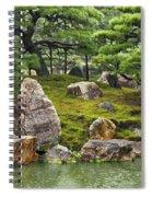 Mossy Japanese Garden Spiral Notebook