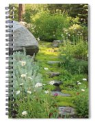Mossy Path In Tahoe Spiral Notebook
