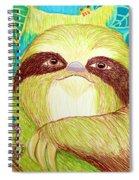Mossy Sloth Spiral Notebook