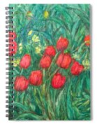 Mostly Tulips Spiral Notebook
