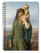 Mother And Child Spiral Notebook