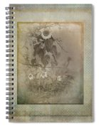 Mother And Child Reunion Vintage Frame Spiral Notebook
