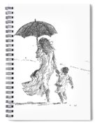 Mother And Child  Sri Lanka Spiral Notebook