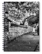 Mother And Daughter-france Spiral Notebook