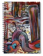 Mother And Son Spiral Notebook
