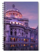 Mother Church And Reflection Spiral Notebook