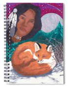 Mother Earth Looking Over Her Children Spiral Notebook