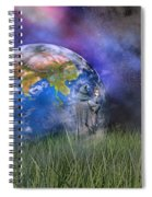 Mother Earth Series Plate4 Spiral Notebook