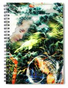 Mother Earth Sister Moon Spiral Notebook