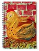 Mother Hen Spiral Notebook