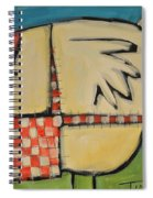 Mother Hen Spiral Notebook