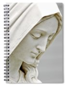Mother Mary Comes To Me... Spiral Notebook