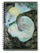 Mother Moon Spiral Notebook