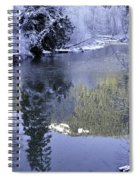 Mother Natures Chilling Touch Spiral Notebook