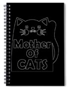 Mother Of Cats 2 Spiral Notebook